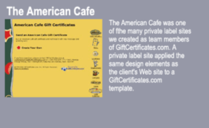 The American Cafe